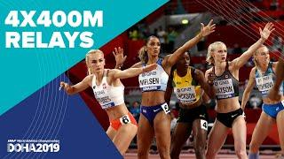 Men's and Women's 4x400m Relay Finals | World Athletics Championships Doha 2019