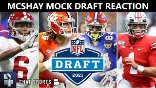 Todd McShay 2021 NFL Mock Draft W/ Trades: Reacting To 32 First Round Picks Before NFL Free Agency