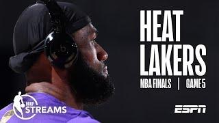 LeBron and the Lakers try to close out the Heat | NBA Finals Game 5 Preview | Hoop Streams