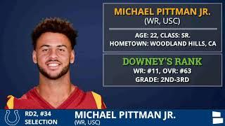 Indianapolis Colts Select WR Michael Pittman From USC With Pick #34 In 2nd Round of 2020 NFL Draft