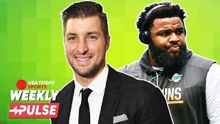 Talking football with Tim Tebow and Christian Wilkins   Weekly Pulse
