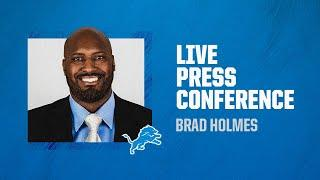 Brad Holmes introductory press conference