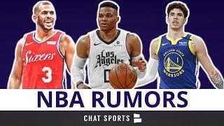 NBA Trade Rumors On Chris Paul, Russell Westbrook & Kemba Walker + Draft Rumors On Lamelo Ball