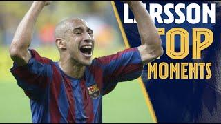 The BEST MOMENTS of HENRIK LARSSON with BARÇA