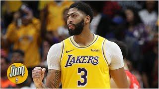 What is the impact of an Anthony Davis contract extension on the Lakers? | The Jump