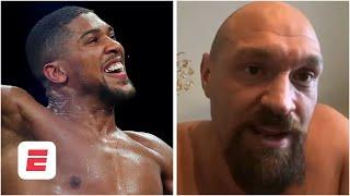 Tyson Fury DOESN'T think that fight with Anthony Joshua will happen in June | ESPN Boxing
