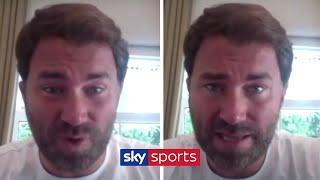 EXCLUSIVE! Eddie Hearn on a new boxing video game, Bellew's desire to fight Ruiz & boxing's return