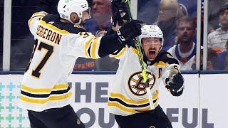 Marchand roofs OT Winner past Varlamov in Game 3