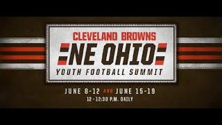 Northeast Ohio Youth Football Virtual Summit Day 3 | Cleveland Browns