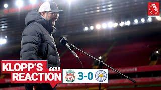 Klopp's Reaction: Special performance, team breakdown & Thiago update | Liverpool vs Leicester