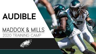 """Avonte Maddox & Jalen Mills at 2020 Training Camp """"That's Highlight Tape Stuff"""" 