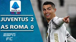 Cristiano Ronaldo goal propels Juventus to victory vs. Roma | ESPN FC Serie A Highlights