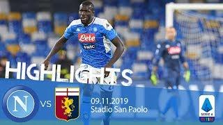 Highlights Serie A - Napoli vs Genoa 0-0