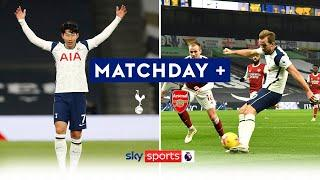 Son & Kane goals win North London derby for Spurs as fans return | Tottenham 2-0 Arsenal | Matchday+