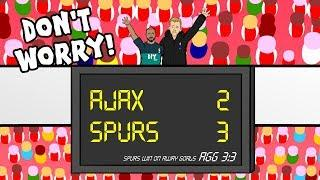 AJAX vs SPURS: the song! 3-3 Champions League Parody Moura Hat-Trick Goals Highlights