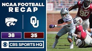 Kansas State vs Oklahoma Recap: Wildcats upset #3 Sooners for 2nd straight season | CBS Sports HQ