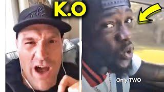 "(WHOA!) TYSON FURY GOES OFF ON WILDER FOR ""DISRESPECTING"" MIKE TYSON ""HE WANTS TO KNOCK OUT 53 Y.O!"""