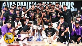 Reacting to Lakers fans' record-breaking 2020 championship sales | The Jump