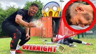 LOCKING BILLY INSIDE A CONTAINER OVERNIGHT! #F2PRANKWARS *Gone Too Far*