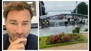 'LET'S GO BABY!' - EDDIE HEARN GOES FULL FAST CAR MODE AS HE UNVEILS MATCHROOM FIGHT CAMP SETTINGS