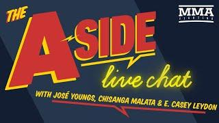 The A-Side Live Chat: UFC Fight Island, Dustin Poirier, Conor McGregor, Michael Chandler, More