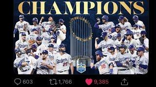 Clippers Get Played By Dodgers After They Won The World Series And Celebrated With Lakers, LeBron