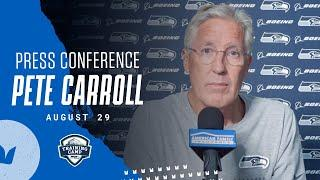 Pete Carroll Speaks on Social Justice | 2020 Training Camp August 29th Press Conference