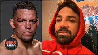 Mike Perry says he'd beat 'weak' Nate Diaz if they fought | ESPN MMA