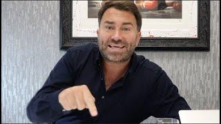 'F****** SAY IT THEN' - EDDIE HEARN ON AJ, USYK-CHISORA, FURY, WHYTE, McGREGOR, MAYWEATHER-PAUL, KSI