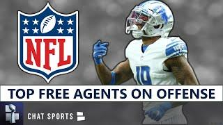 NFL Free Agency 2021: Top Offensive NFL Free Agents Left Unsigned Ft. Kenny Golladay & James Conner