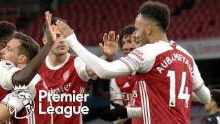 Aubameyang secures brace, extends Arsenal lead against Newcastle | Premier League | NBC Sports