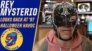 Rey Mysterio talks love of MMA, Halloween Havoc match vs. Eddie Guerrero | ESPN MMA