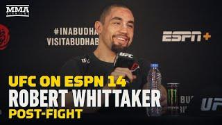 UFC on ESPN 14: Robert Whittaker Says He's Champ With or Without Belt - MMA Fighting