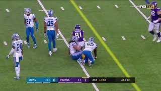 NFL 2019-20  Week 14   Lions -- Vikings    Condensed Game
