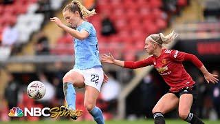 Women's Super League: Manchester United v. Manchester City | EXTENDED HIGHLIGHTS | NBC Sports