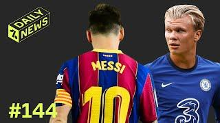 Chelsea to make RECORD BID for Haaland + Messi sees RED!