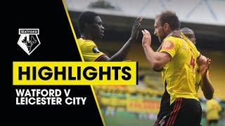 EXTENDED HIGHLIGHTS | WATFORD 1-1 LEICESTER CITY | DAWSON & CHILWELL'S SPECTACULAR STRIKES