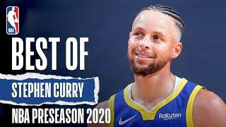 Stephen Curry's BEST Moments From The 2020 #NBAPreseason