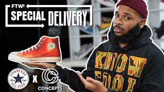 Chuck 70 SOUTHERN FLAME: Unboxing & Review (Converse and Concepts collaboration) | Special Delivery