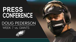 Doug Pederson Discusses the Win Over the Giants | Eagles Press Conference
