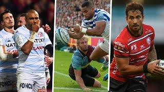 Rugby at it's stunning best in slow motion...