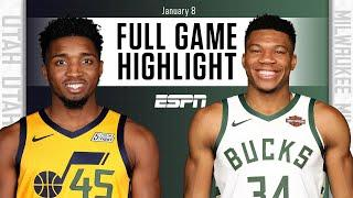 Utah Jazz vs. Milwaukee Bucks [FULL GAME HIGHLIGHTS] | NBA on ESPN