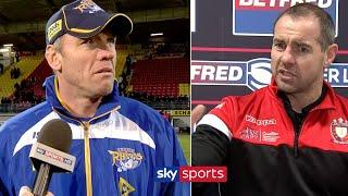 When players and coaches lose their cool!  | Rugby League