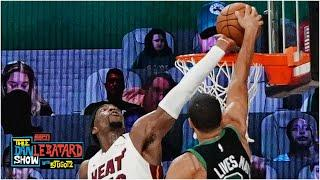 Bam Adebayo on blocking Jayson Tatum's dunk in Game 1 | Dan LeBatard Show