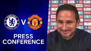 Frank Lampard on FA Cup Clash & Injury Update | Chelsea v Manchester United