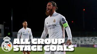 Champions League: All group stage goals 2020/21