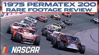 1975 Permatex 200 Modified race from Daytona's road course   NASCAR Historic Race Review