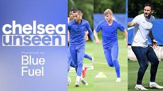 Timo Werner, Ziyech & Tammy Abraham on in Shooting Drill | Chelsea Unseen
