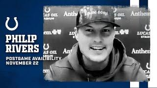 Philip Rivers Postgame Press Conference: Colts Vs. Packers