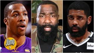 Kendrick Perkins to Dwight Howard: How is Kyrie Irving 100% right with no plan? | The Jump